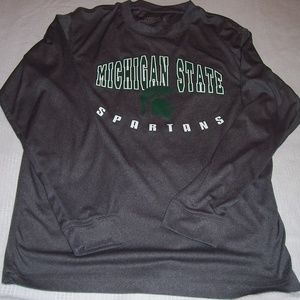 Campus Heritage Michigan State Spartans Gray XL